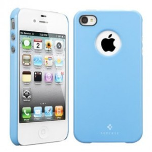 Чехол для iPhone 4\4S SGP Case Ultra Thin Air Pastel Series (голубой)