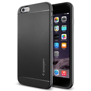 Чехол для iPhone 6 Plus Spigen Neo Hybrid Series стальной