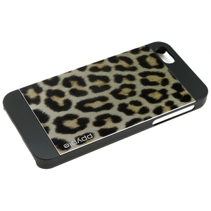 Чехол для iPhone 5/5S Ppyple Metal Jacket snow leopard black