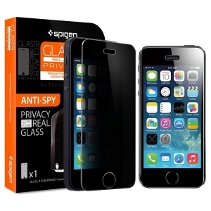 Защитное стекло для iPhone 5S/5C/5 SGP Screen Protector GLAS.tR SLIM Privacy