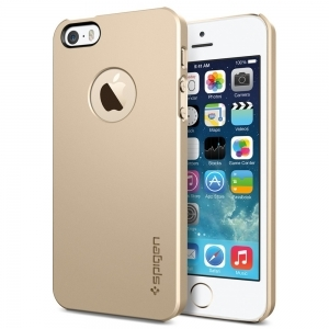 Чехол SGP iPhone 5S/5 Case Ultra Thin Air A gold