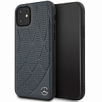 Чехол Mercedes Bow Quilted perforated Hard для Apple iPhone 11 (синий)