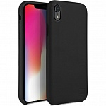 Кожаный чехол для Apple iPhone XR Uniq Duffle Vale Genuine leather Black