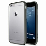 Чехол для iPhone 6 Spigen Ultra Hybrid серый