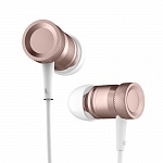 Стерео-наушники Rock Mula Stereo Earphone Rose gold