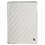 Чехол для iPad Air JisonCase QUILTED LEATHER SMART CASE белый