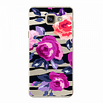 Чехол для Samsung Galaxy A5 (2016) Deppa Art Case Flowers Розы