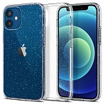 Чехол Spigen Liquid Crystal Glitter для Apple iPhone 12 mini (прозрачный)