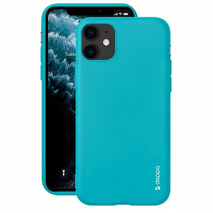 Чехол Deppa Gel Color Case для Apple iPhone 11 (мятный)