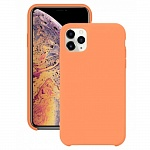 Чехол Silicone Case для Apple iPhone 11 Pro (персиковый)