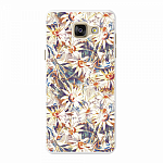 Чехол для Samsung Galaxy A5 (2016) Deppa Art Case Flowers Ромашки