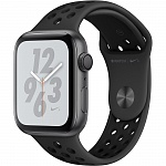 Apple Watch Series Nike+ 4 GPS 44mm MU6L2RU/A (Space Gray Aluminum Case with Anthracite/Black Nike Sport Band)