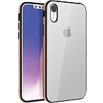 Чехол для Apple iPhone XR Uniq Valencia Clear (золотой)