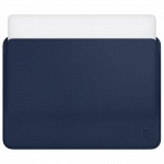 Чехол WIWU Skin Pro Leather Sleeve для Apple MacBook 12 blue
