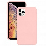 Чехол Silicone Case для Apple iPhone 11 Pro (розовый)