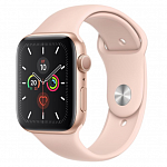 Apple Watch Series 5 40mm (Gold Aluminum Case with Pink Sand Sport Band) MWV72
