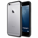 Чехол для iPhone 6 Spigen Ultra Hybrid черный