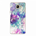 Чехол для Samsung Galaxy A5 (2016) Deppa Art Case Flowers Пионы