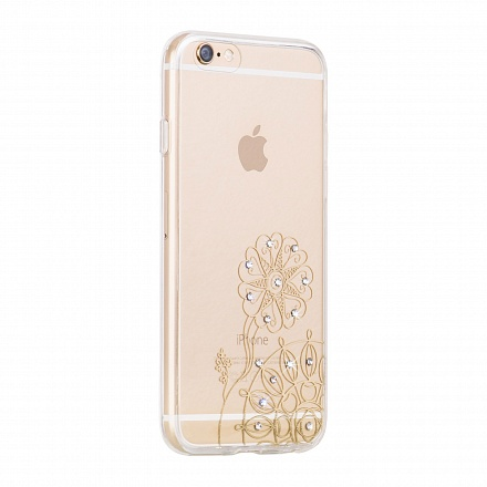 Силиконовый чехол для iPhone 6/6S Plus 5.5 Hoco Super Star Series Shinning Diamond Windmill