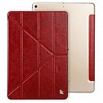 Чехол Jisoncase Ultra Thin Cases для Apple iPad Pro 10.5 (бордовый)