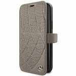 Чехол Mercedes Bow Quilted perforated Booktype Leather для Apple iPhone 11 Pro (бежевый)
