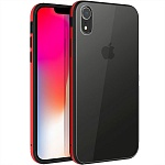 Чехол для Apple iPhone XR Uniq Valencia Clear (красный)