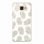Чехол для Samsung Galaxy A5 (2016) Deppa Art Case Back to summer Листья 2