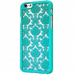 Чехол для iPhone 6\6S 3D Lace мятный