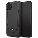 Чехол Mercedes Urban Smooth perforated Hard для Apple iPhone 11 Pro (черный)