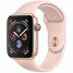 Apple Watch Series 4 GPS 44mm (Gold Aluminum Case with Pink Sand Sport Band)