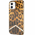 Чехол AVANA Fashionista для Apple iPhone 11 (Leopard/Gold)
