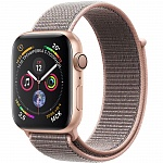 Apple Watch Series 4 GPS 44mm MU6G2 (Gold Aluminum Case with Pink Sand Sport Loop)