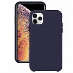 Чехол Silicone Case для Apple iPhone 11 Pro (темно-синий)