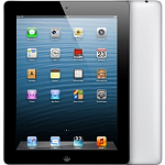 Apple iPad 4 16Gb Wi-Fi + Cellular  Black (черный