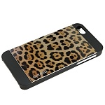 Чехол для iPhone 5/5S Ppyple Metal Jacket jaguar black