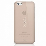 Чехол для Apple iPhone 6 White Diamonds Trinity Gold