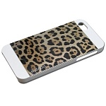Чехол для iPhone 5/5S Ppyple Metal Jacket jaguar white