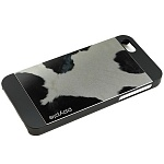 Чехол для iPhone 5/5S Ppyple Metal Jacket  holstein black