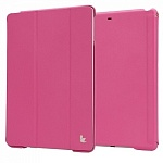 Чехол для Apple iPad Air JisonCase Executive Smart Cover малиновый