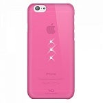 Чехол для Apple iPhone 6 White Diamonds Trinity Pink