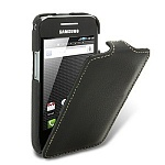 Чехол для Samsung Galaxy Ace S5830 Melkco Leather Case Jacka Type (Black LC)