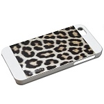 Чехол для iPhone 5/5S Ppyple Metal Jacket snow leopard white