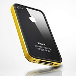 Бампер SGP Case Neo Hybrid EX Series iPhone 4S (желтый)