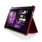 Чехол для Samsung Galaxy Tab 10.1 SGP Leather Case Stehen Series red
