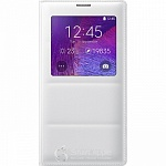 Чехол-книжка Samsung S-View для Galaxy Note 4 N910 White EF-CN910BWEGRU