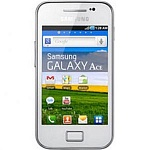 Samsung S5830 Galaxy Ace (white)