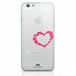 Чехол для iPhone 6 White Diamonds Lipstick Heart