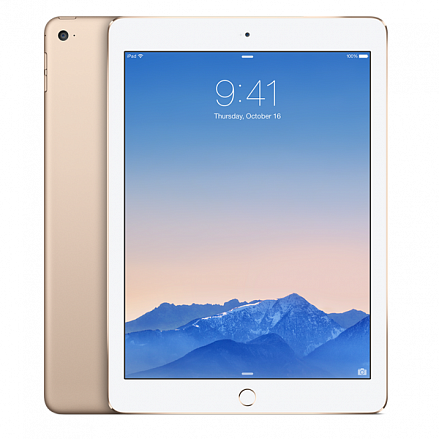 Apple iPad Air 2 Wi-Fi + Cellular 32Gb Gold MNVR2RU/A