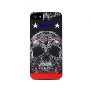 "Чехол для iPhone 5/5S JUST CAVALLI ""SOFT SKULL"" 1"