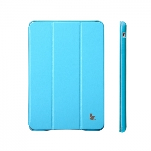 Чехол для iPad mini Retina JisonCase Executive голубой